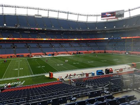 sports authority field sections sports authority field section 125 rateyourseats com