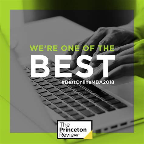 Princeton Review Green Mba by Rankings Recognitions Saunders College Of Business Rit