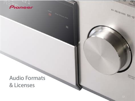 audio format explained pioneer av receivers 2013 features explained