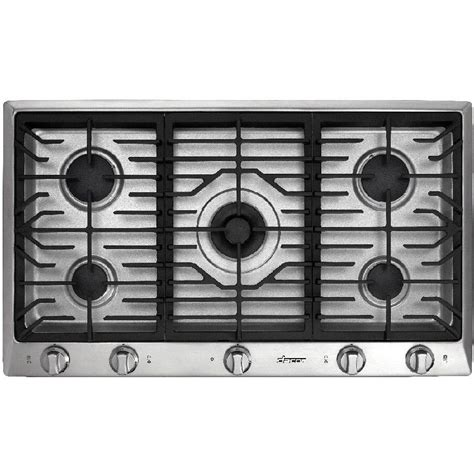 36 Inch Stainless Steel Downdraft Gas Cooktop kenmore elite 31123 36 quot downdraft gas cooktop stainless steel sears outlet