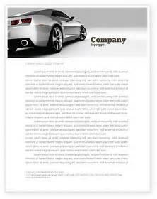 automotive business letterhead template car letterhead template layout for microsoft word adobe
