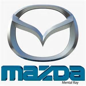 Madza Logo Mazda Logo 3d Model Max Obj 3ds Fbx Cgtrader