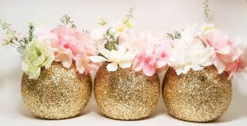 flower vase decoration gold wedding decor glass vase centerpieces