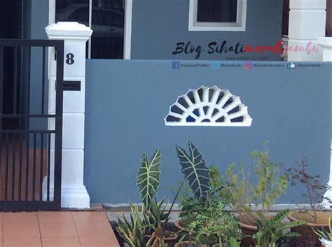 cat luar rumah warna grey blue white black blog