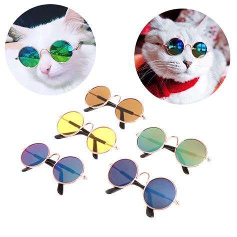Pet Glasses fashion small pet sunglasses cat glasses grooming eye