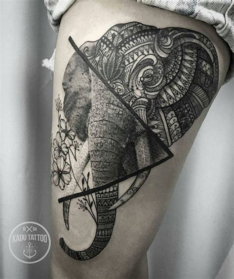 tattoo mandala realistic new elephant tattoos 2018 best tattoos for 2018 ideas