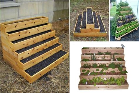 Planters For Small Spaces by Diy Raised Bed Vegetable Garden Diy And Crafts