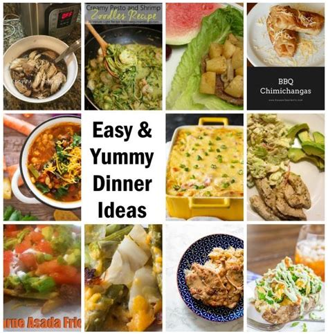 Dinner Ramblings by 20 Easy Dinner Recipes And Block Gun Ramblings