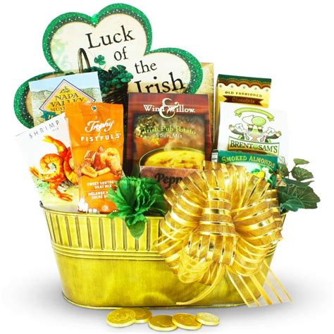 s day basket the luck of the st s day gift basket
