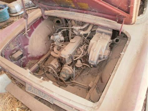 renault caravelle engine 1961 renault caravelle barn find