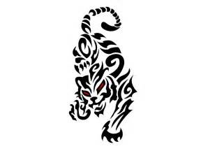 jumping tiger tattoo clipart best