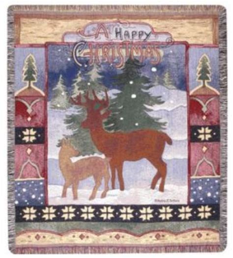 a wonderful selection of christmas throw blankets and