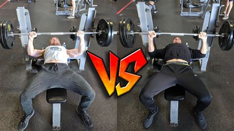 buff dudes bench press which buff dude is stronger bench press challenge