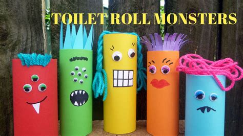 toilet paper you monster how to make a toilet paper roll monster toilet paper