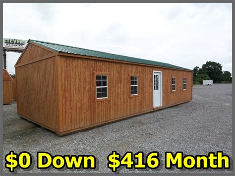Pics Inside 14x32 House by 16x40 Graceland Portable Buildings Price Quotes