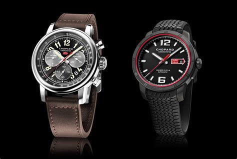 Chopard 1000 Miglia Black two new models in the 2016 chopard mille miglia collection