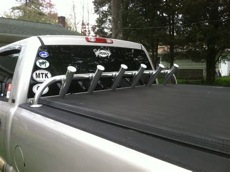 Toyota Tacoma Bike Rack Attachment by Rod Rack For Tacoma Rails The Hull Boating And