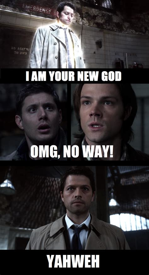 Supernatural Meme - no way yahweh by enginesummer on deviantart