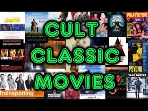 classic films to watch yaga s favorites cult classic movies youtube
