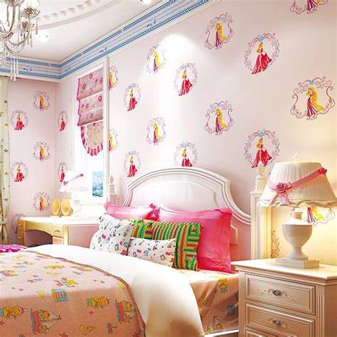 kids room cute pink dotty wallpaper girls bedroom home design online buy wholesale shop wallpaper from china shop