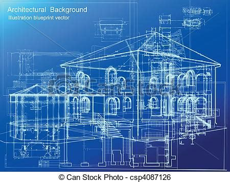 Palace Floor Plans clip art vector of architectural blueprint background