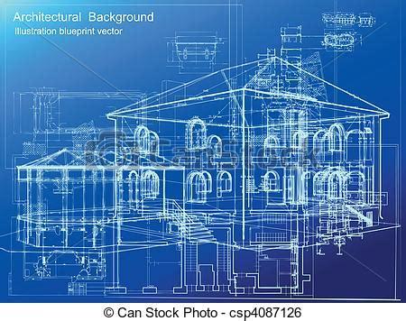 architectural blueprints for architectural blueprint background vector vector clipart