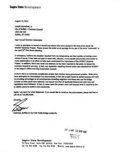 Apology Cover Letter Format Sam Hoyt S Apology For His Brainwash Comment Raises Questions For His Gov Andrew Cuomo