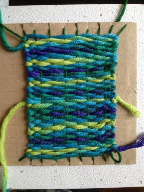 mat tea coaster weaving diy weaving diy projects easy