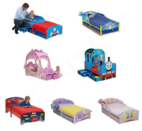 character toddler beds character junior toddler bed mattress new free p p ebay