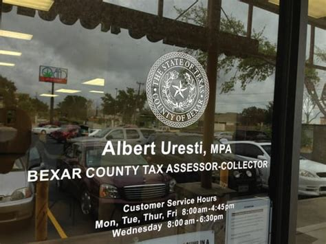 Tax Office San Antonio by Bexar County Tax Assessor Collector Tax Services