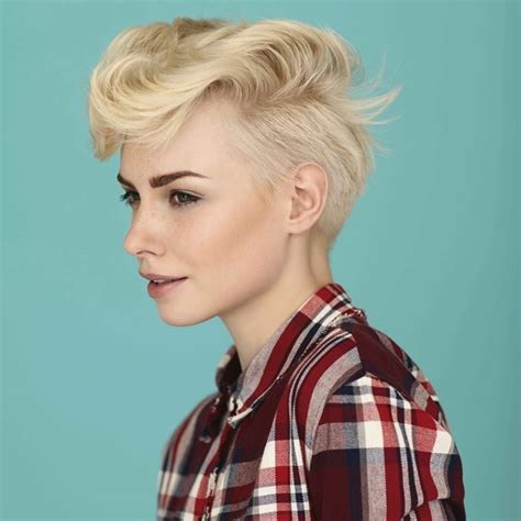 two gorgeous short hair looks from the woman collection at