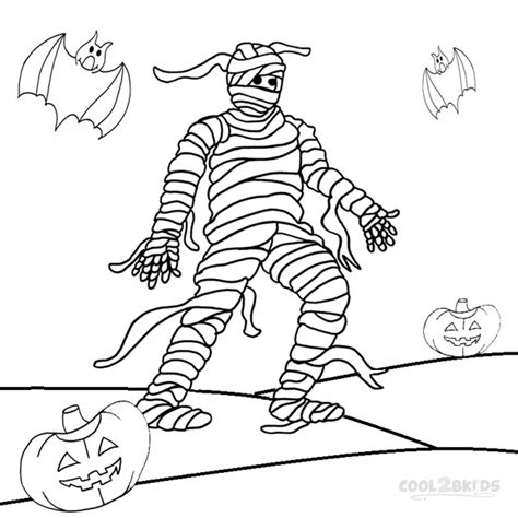 mummy coloring pages halloween printable mummy coloring pages for kids cool2bkids