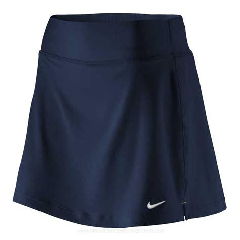 nike power skirt black white
