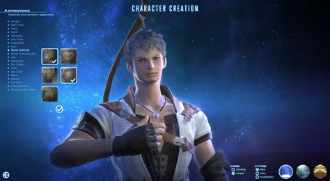 i ll be there characters character creation showing 1 new final fantasy xiv a realm reborn screenshots show