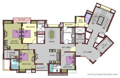 Garden State Plaza Floor Plan | uppal plumeria garden estate omicron greater noida