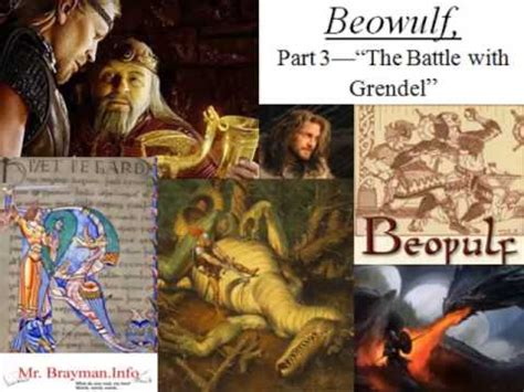 Beowulf Three Battles Essay by Beowulf Part 3 Quot The Battle With Grendel Quot