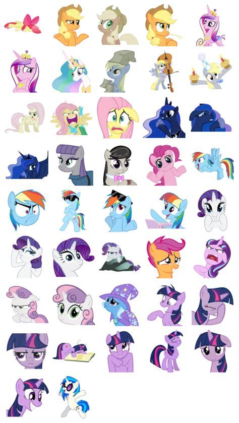 Stiker Sticker Pony pony motes stickers telegram