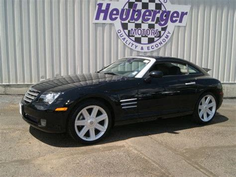 how to sell used cars 2008 chrysler crossfire on board diagnostic system sell used 2008 chrysler crossfire limited in colorado springs colorado united states for us