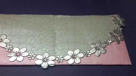 Handmade Envelope Decoration - diy envelope decoration idea