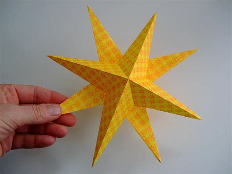 3d origami christmas star tutorial tutorial super simple paper stars annekata