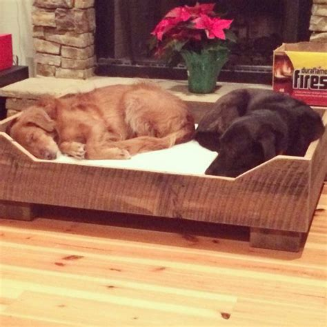 rustic dog bed 1000 images about dog beds on pinterest rustic wood