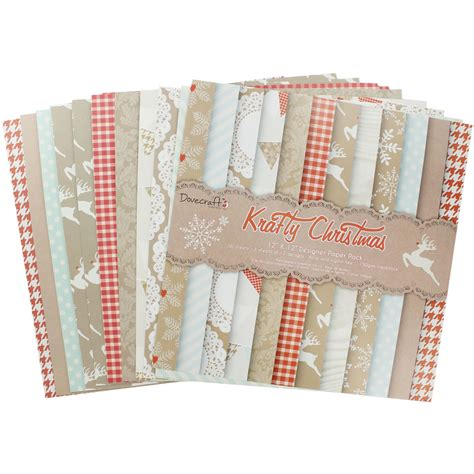 Craft Paper Packs - krafty paper pack 12 x 12 inches craft paper