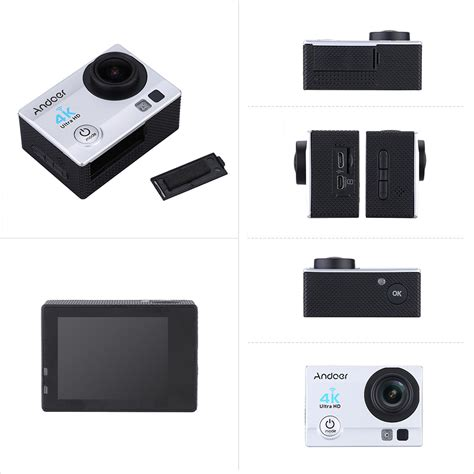 T4shops Q3h 2 Ultra Hd Wifi Silver andoer q3h 2 quot ultra hd lcd 4k 25fps 1080p 60fps wifi wireless connection 16mp 170