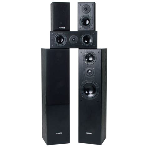 fluance 5 speaker home theatre system avhtb best buy