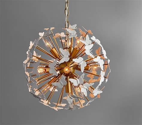 pottery barn chandelier butterfly chandelier pottery barn