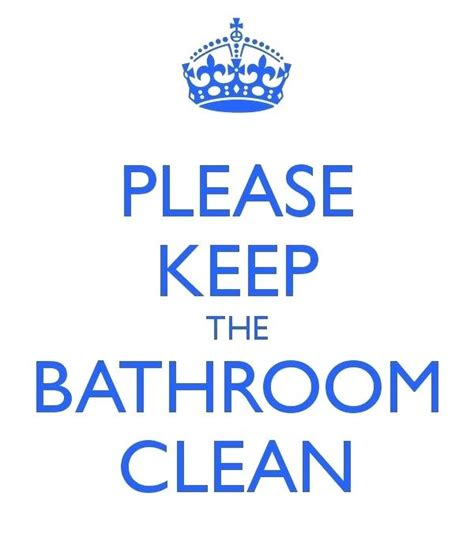 keep bathroom clean sign keep bathroom clean signs like this item funny clean