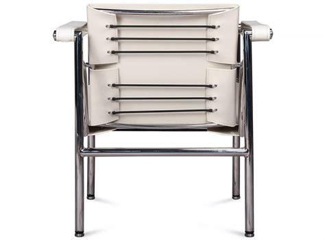 Le Corbusier Lc1 by Le Corbusier Lc1 Sling Basculant Chair Platinum Replica