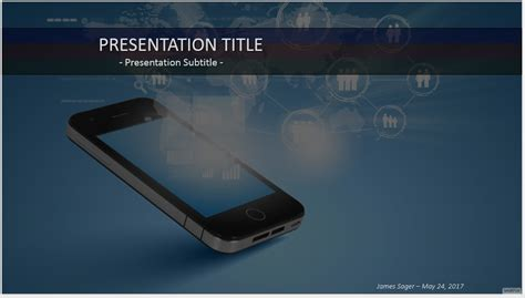 Mobile Phone Technology Ppt 65251 Free Mobile Phone Technology Ppt By Sagefox 12229 Free Cell Phone Powerpoint Template