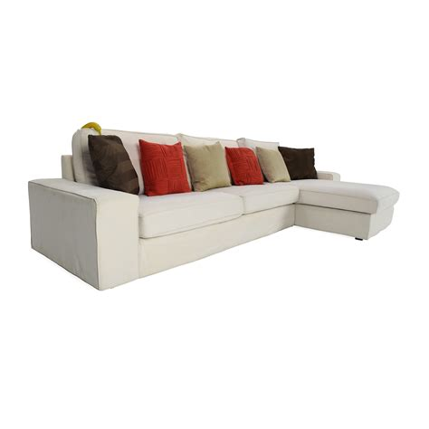 white sectional sofa with chaise white sofa with chaise smileydot us