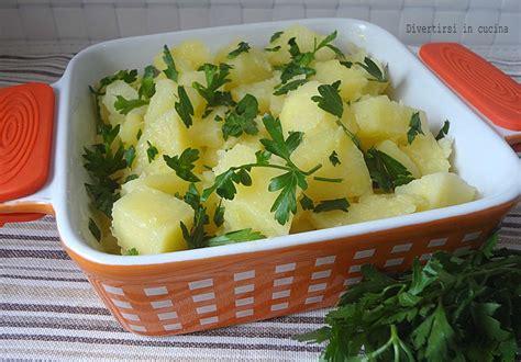 cucinare patate lesse patate lesse al prezzemolo contorno versatile divertirsi